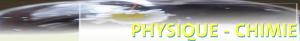 banniere site physique chimie